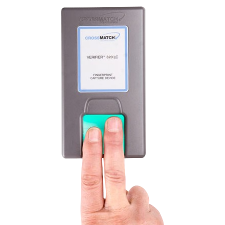 Crossmatch Verifier 320 Fingerprint Reader