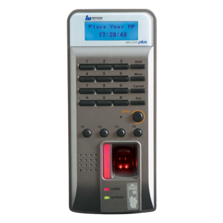 NITGEN NAC 2500 Plus Fingerprint Security System