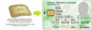e-ID card for citizens of Nigeria