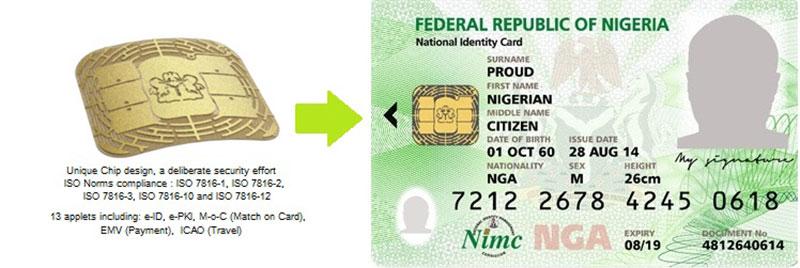 e-ID card for citizens of Nigeria